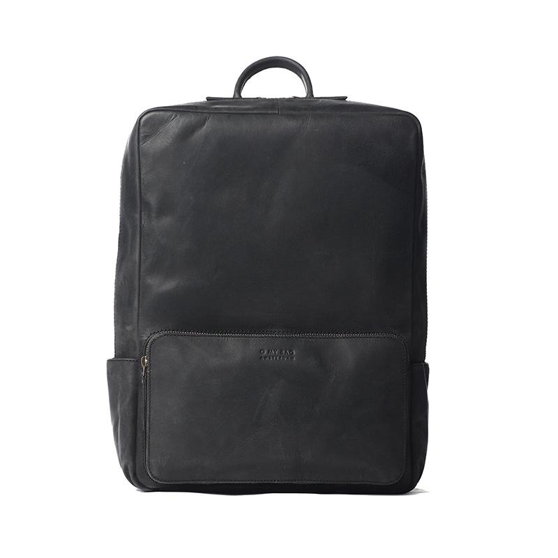 O My Bag John Backpack Maxi Black-0