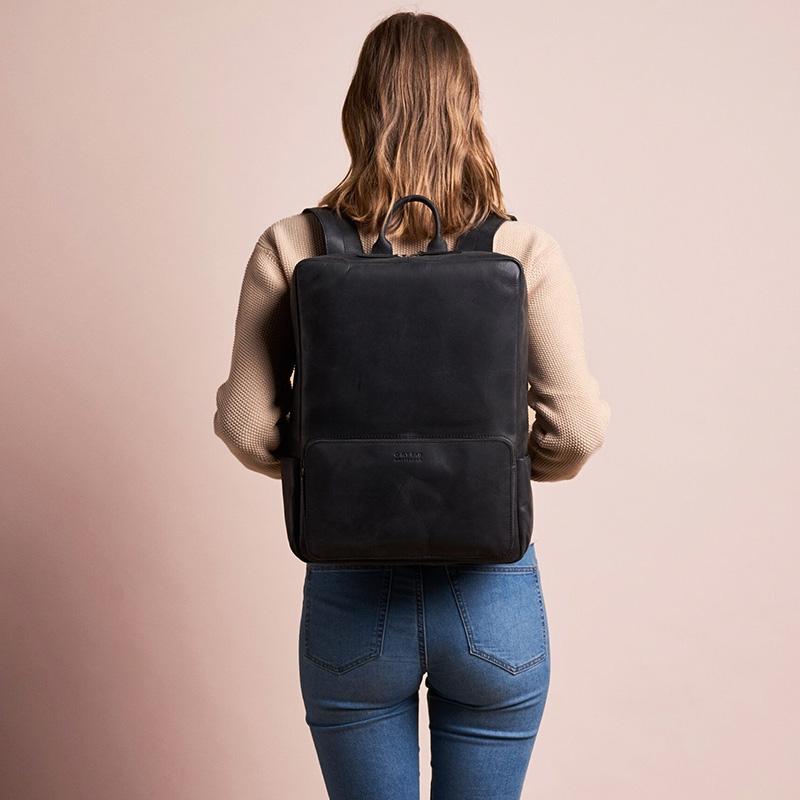 O My Bag John Backpack Maxi Black-161761