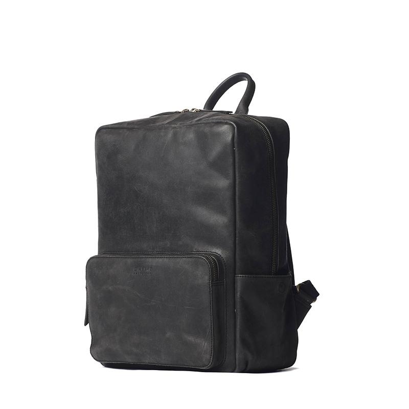 O My Bag John Backpack Midi Black-161770