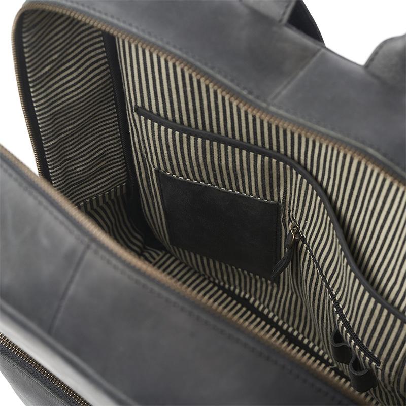 O My Bag John Backpack Midi Black-161773