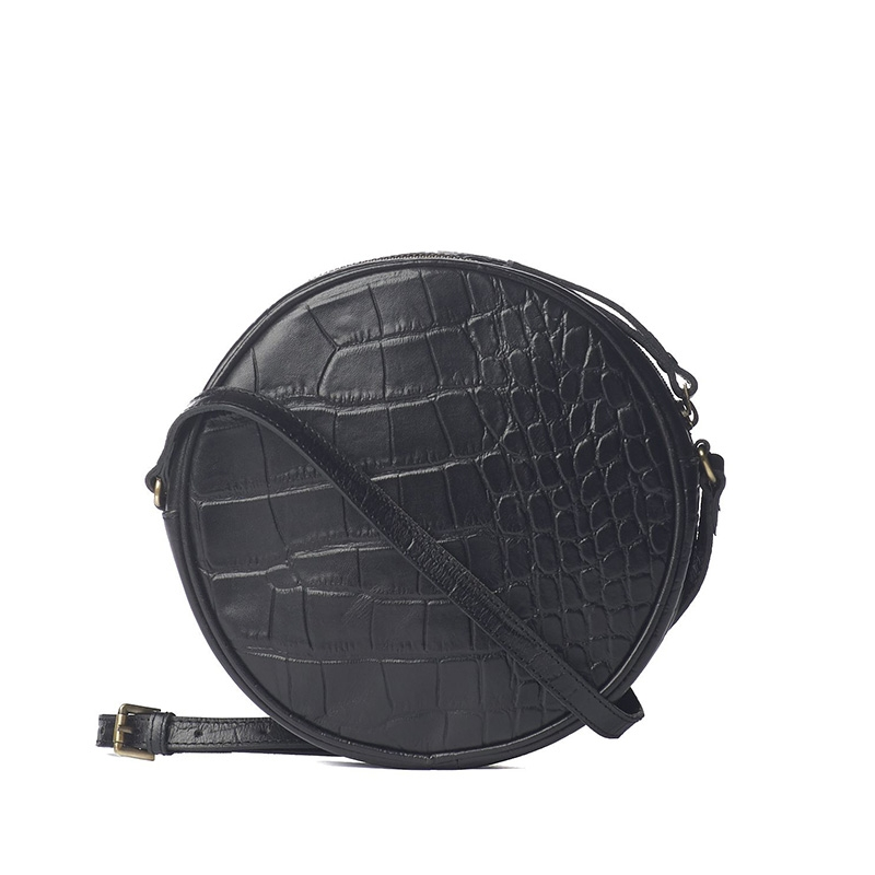 O My Bag Luna Bag Black Croco-161729