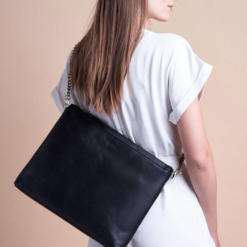 O My Bag Scarlet Eco Classic Black-161781