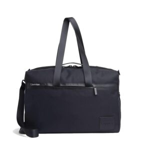 Calvin Klein Split Weekender Bag Black-0