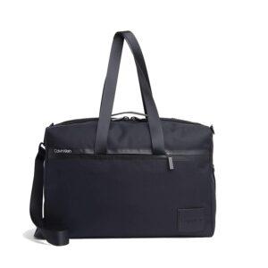 Calvin Klein Split Weekender Bag Black-0