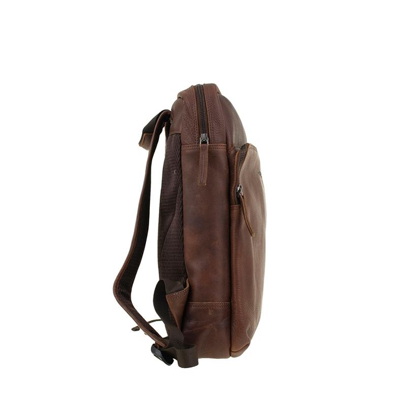 "DSTRCT Raider Road 15"" Backpack Cognac-162184"