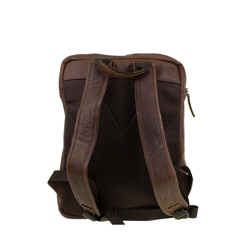 "DSTRCT Raider Road 15"" Backpack Cognac-162186"