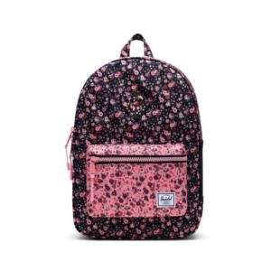 Herschel Heritage Kids Multi Ditsy Floral Black / Flamingo Pink-0