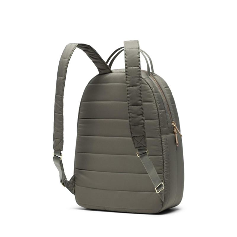 Herschel Nova Small Quilted Dusty Olive-166591