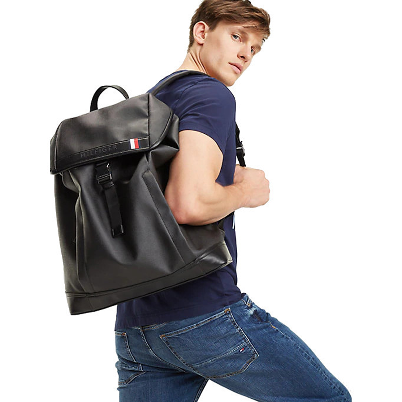 Tommy Hilfiger Coated Canvas Backpack-162846