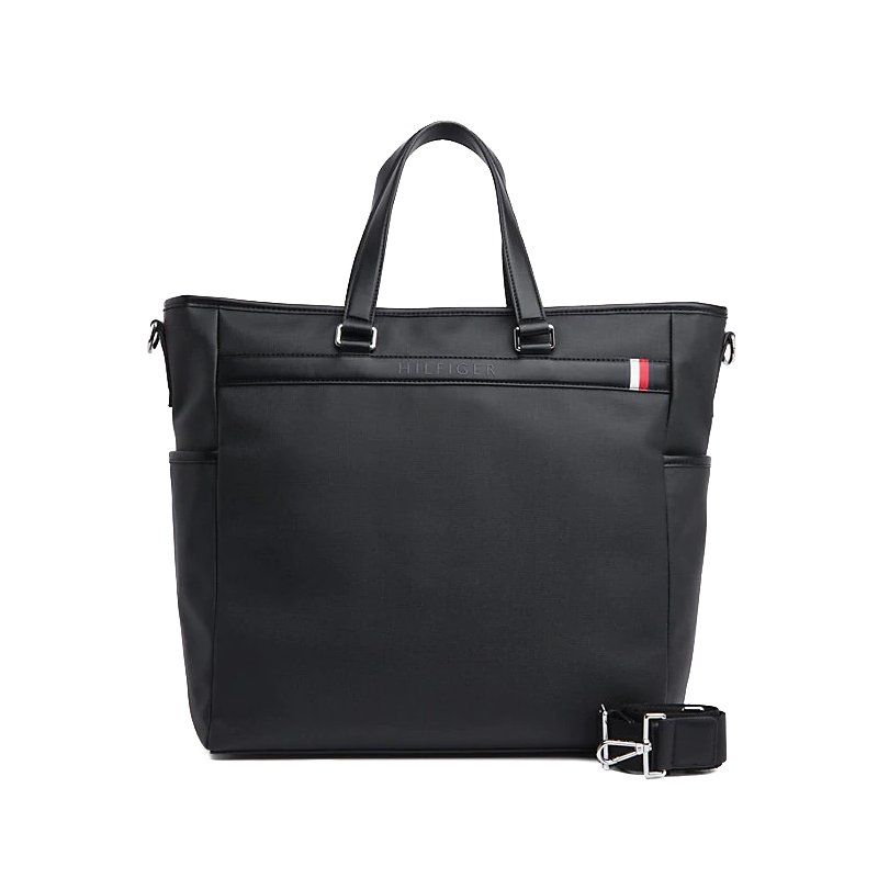 Tommy Hilfiger Coated Canvas Tote-0