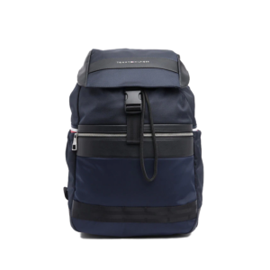 Tommy Hilfiger Nylon Mix Flap Backpack