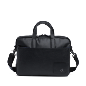 Calvin Klein Direct Slim Laptop Bag Black-0