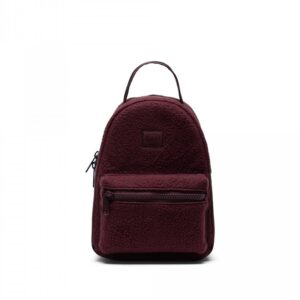 Herschel Nova Mini Sherpa Fleece Plum-0