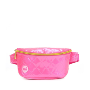 Mi-Pac Bum Bag Patent Quilt Pink-0
