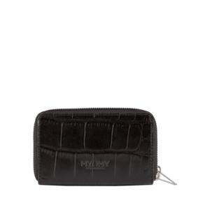 MYOMY My Paper Bag Wallet Medium Croco Black-0