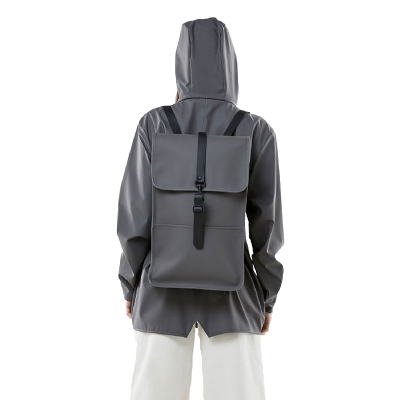 RAINS Backpack Charcoal-165622