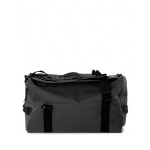 RAINS Duffel Backpack Black-0