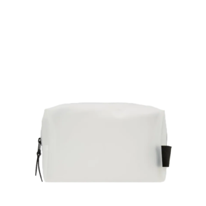 RAINS Wash Bag Small Foggy White-0