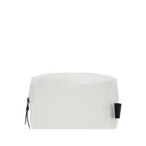 RAINS Wash Bag Small Foggy White-0