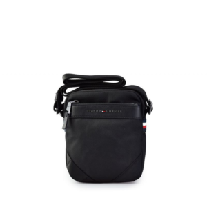 Tommy Hilfiger Elevated Small Reporter Bag Black