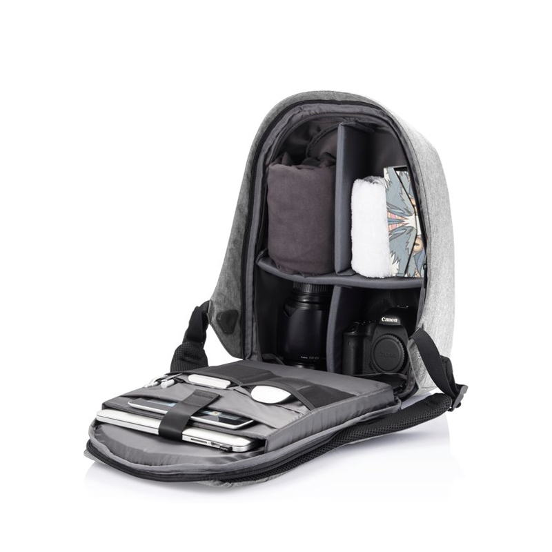 XD Design Bobby Pro Anti-theft Backpack Grey-167359