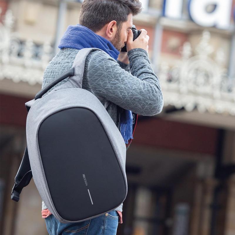XD Design Bobby Pro Anti-theft Backpack Grey-167360