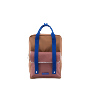 Sticky Lemon Backpack Deluxe Large Sugar Brown/Hotel Brick/Ink Blue-0