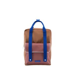 Sticky Lemon Backpack Deluxe Large Sugar Brown/Hotel Brick/Ink Blue-0