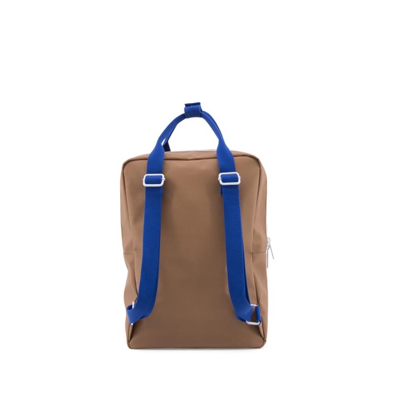 Sticky Lemon Backpack Deluxe Large Sugar Brown/Hotel Brick/Ink Blue-167929