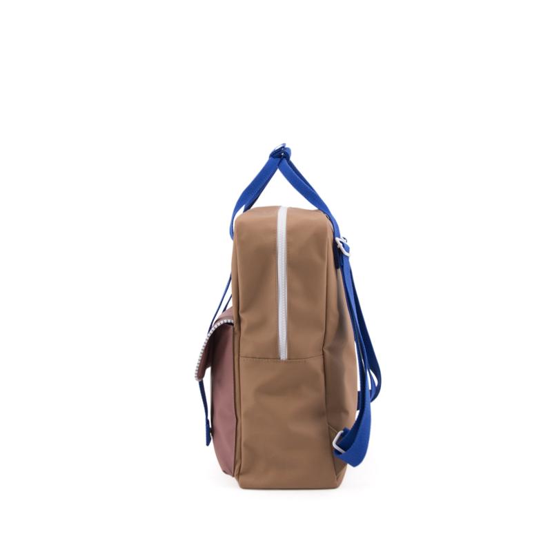 Sticky Lemon Backpack Deluxe Large Sugar Brown/Hotel Brick/Ink Blue-167927
