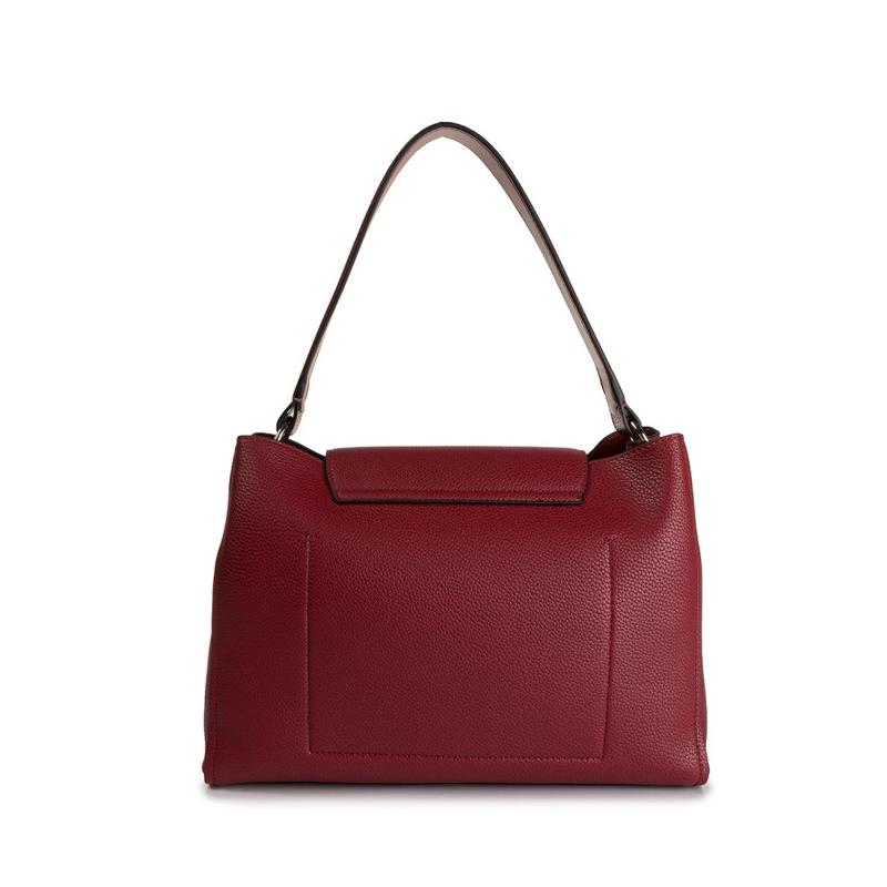 Calvin Klein Re-Lock Top Handle Satchel Red-167186