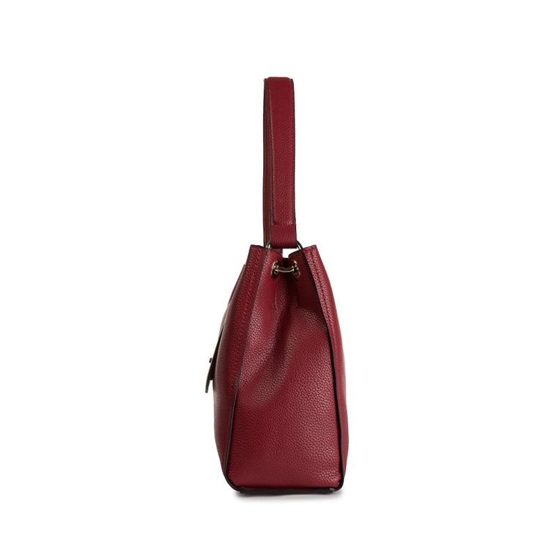 Calvin Klein Re-Lock Top Handle Satchel Red-167185