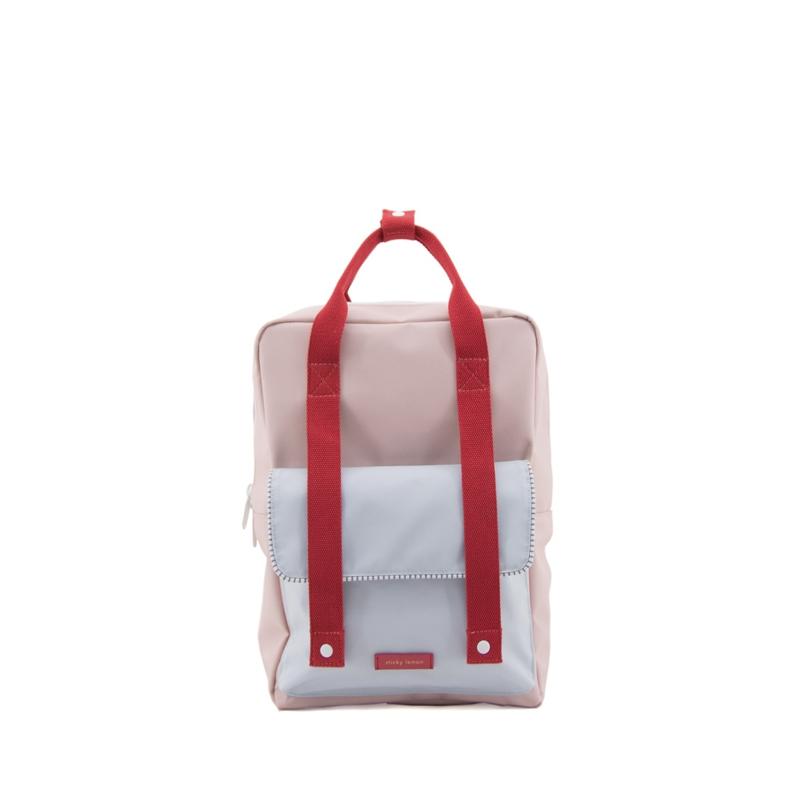 Sticky Lemon Backpack Deluxe Large Mendl's Pink/Agatha Blue/Elevator Red-0