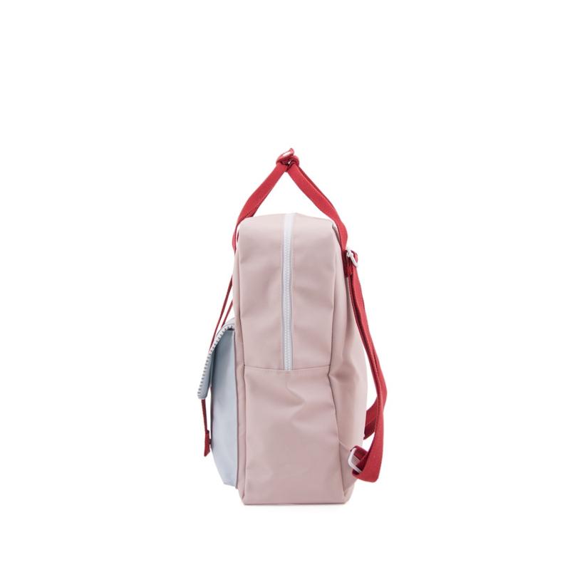 Sticky Lemon Backpack Deluxe Large Mendl's Pink/Agatha Blue/Elevator Red-167945