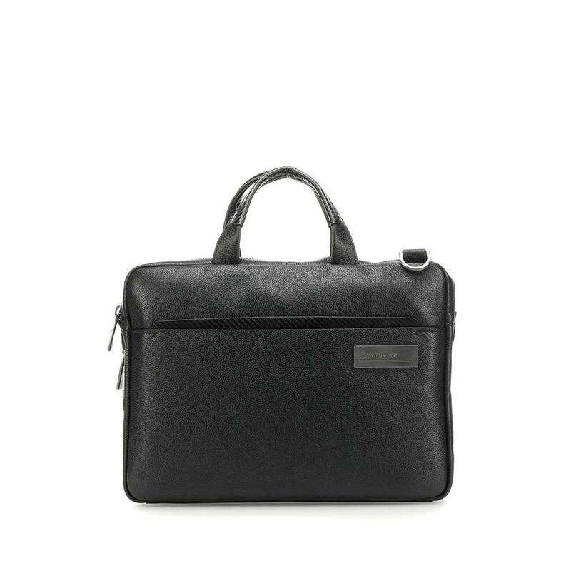 Calvin Klein Classic Carbon Laptop Bag Black-0