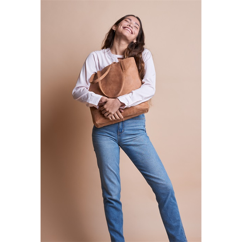O My Bag Georgia Camel Hunter Leather-170120