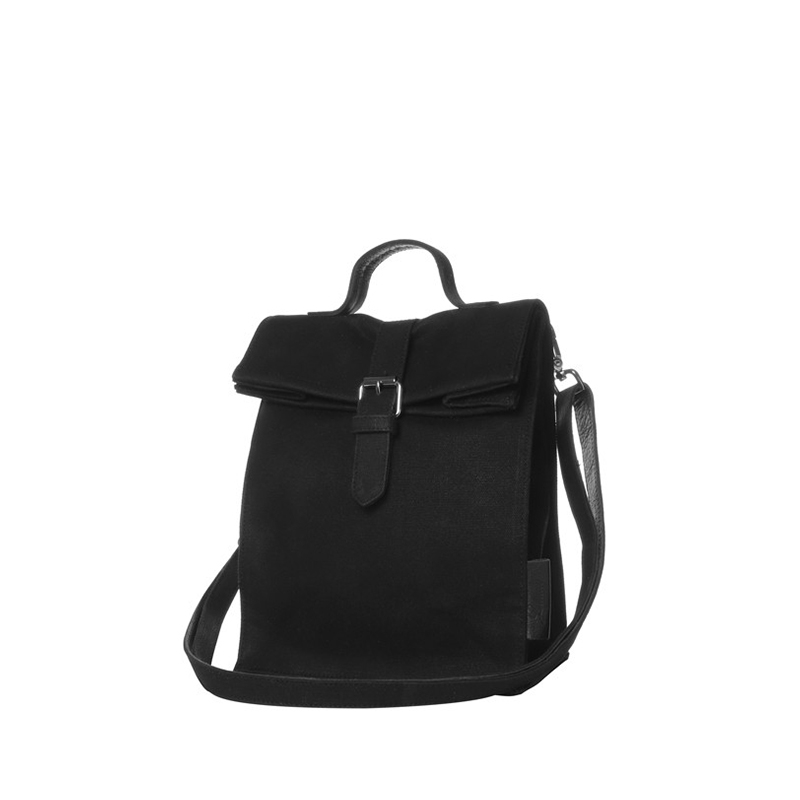 Laauw The AMS Nine Streets Black Canvas-0