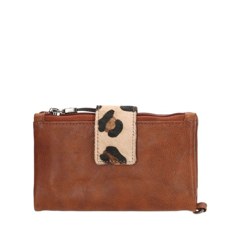 Micmacbags Wildlife Wallet Large Brown-0