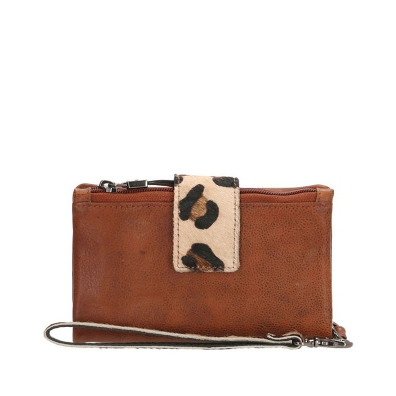 Micmacbags Wildlife Wallet Large Brown-170044