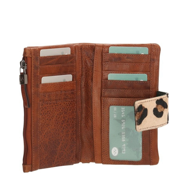 Micmacbags Wildlife Wallet Large Brown-170025