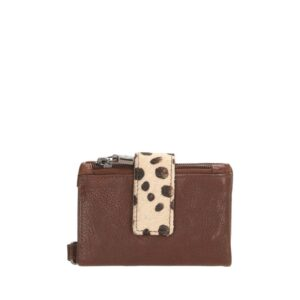 Micmacbags Wildlife Wallet Dark Taupe-0