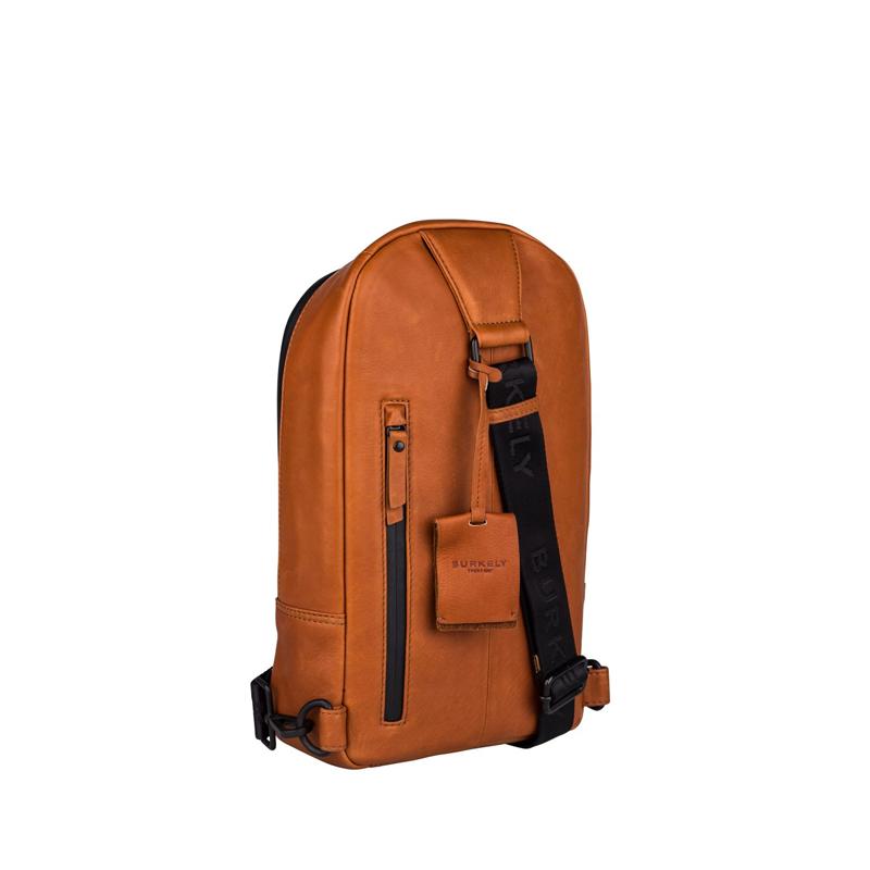 "Burkely Rain Riley Bodypack 9,7"" Corroded Cognac-170269"