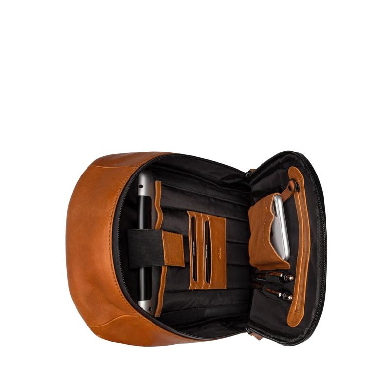 "Burkely Rain Riley Bodypack 9,7"" Corroded Cognac-170270"