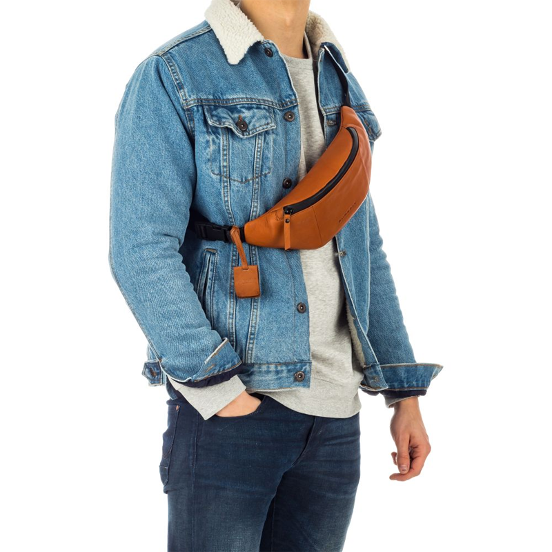 Burkely Rain Riley Bumbag Corroded Cognac-170327