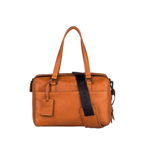 Burkely Rain Riley Handbag S Corroded Cognac-0