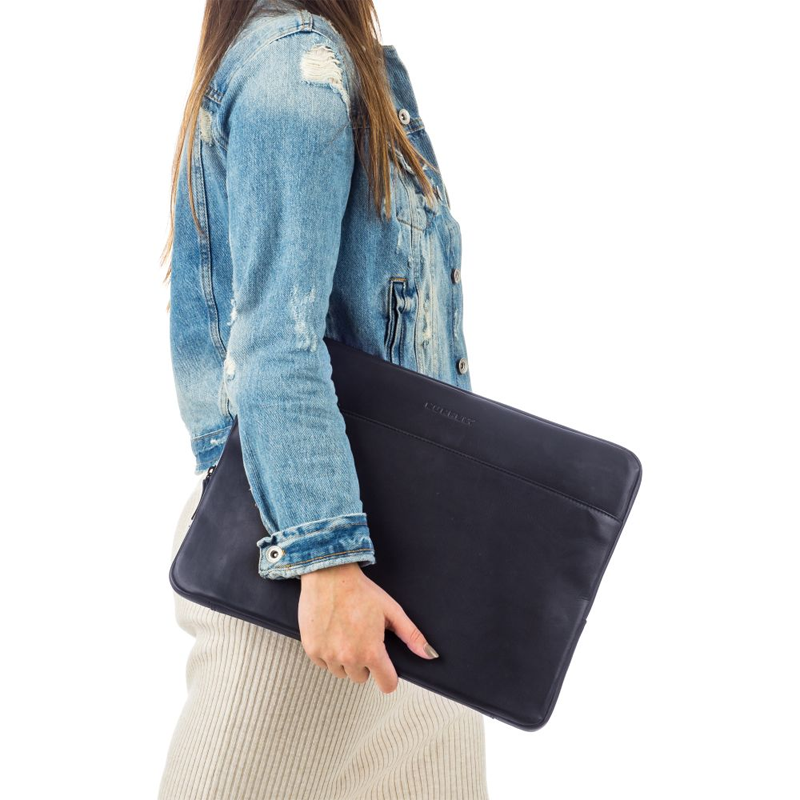 "Burkely Rain Riley Laptopsleeve 15,6"" Storm Blue-170247"