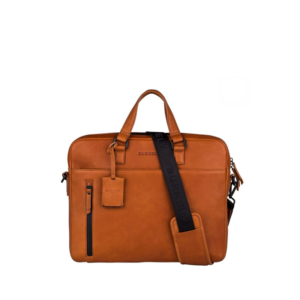 "Burkely Rain Riley Laptopbag 15,6"" Corroded Cognac-0"