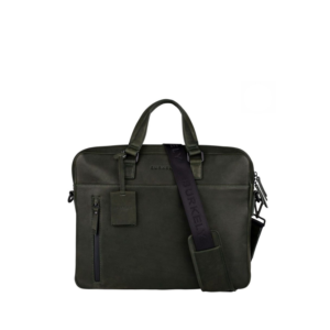 "Burkely Rain Riley Laptopbag 15,6"" Oil Green-0"
