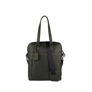 "Burkely Rain Riley Shopper 15,6"" Oil Green-0"