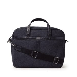 Ted Baker Farlow Wool Document Bag Navy-0